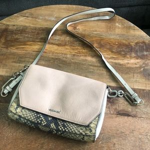 Authentic Coach Crossbody Purse in Snakeprint
